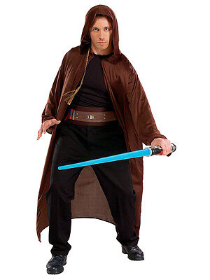 Adult Star Wars Jedi Knight Fancy Dress Costume Kit STD Skywalker Lightsaber BN
