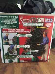 easy water swivel straight tree stand