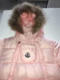 Brand new moncler snowsuit
