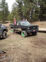 1978 Chevy mud bogger,