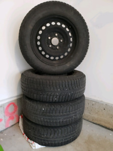 Winter & snow Tires with Rims 195/65 R15
