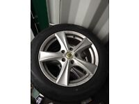 BK racing alloys mint condition fits T5