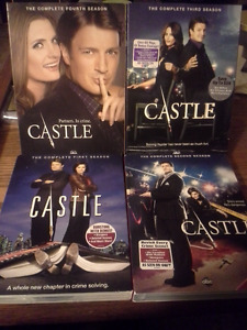 CASTLE (the first 4 Seasons on DVD)