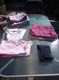 Summer girls 5-6 clothes bundle