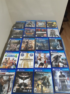Multiple PS4 Games for Sale! 3 VR Games at Bottom of List!