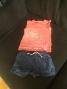 Vêtements été fille 24 mois / 2t