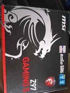 MSI z97 MoBo/16gb HyperX ram