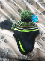 Bnwt 2t-3t hat and mittens set