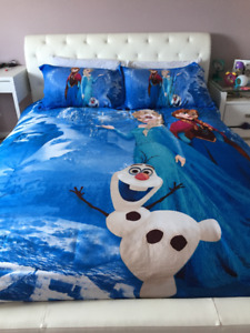 Disney Frozen theme bedding