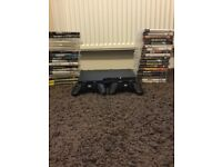 PS3 console, 2 controllers (One DualShock 3), 39 games.