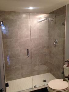 Frameless Shower Glass Doors Enclosures bathtubs - Mirrors etc. Kitchener / Waterloo Kitchener Area image 5