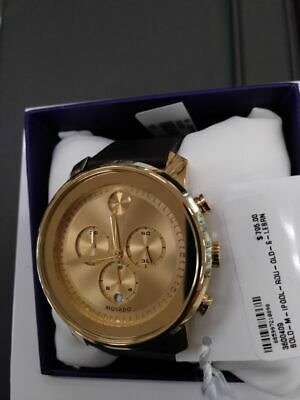 Movado 3600409 Men's Bold Gold Quartz Watch