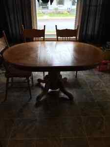 Table, chairs and cabinet Windsor Region Ontario image 5