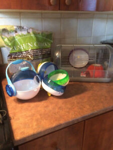 Cage Habitrail pour Hamster Nains