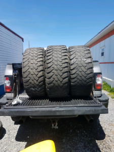 3 tires 33x12.5x18 open country