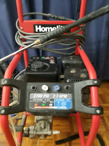 2700 psi pressure washer gas operated