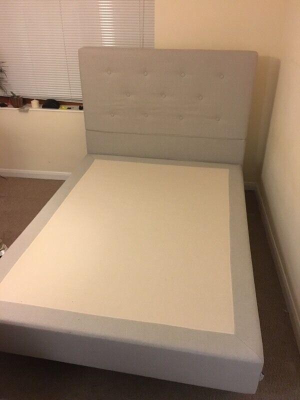 Ikea double bed evenskjer mattress base sultan legs for Bed base ikea