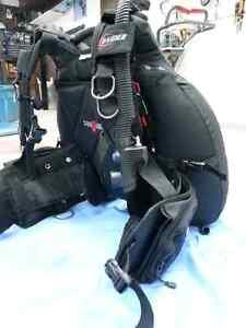 Équipement de plongée sous-marine. Scuba.