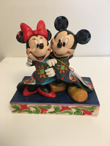 Disney Traditions Collectable Minnie and Mickey Figure