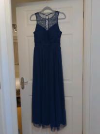 Beautiful Uk size 10 prom/ball gown dress/bridesmaids dress