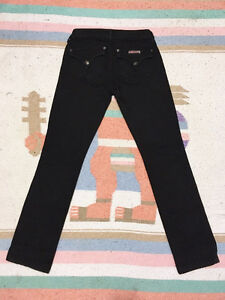 "HUDSON High Rise ""CARLY"" STRAIGHT LEG JEANS Black Ice, Size 26 London Ontario image 8"