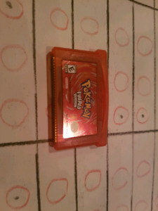 Pokemon Fire red Gameboy advance