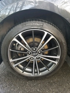 Oem Mags wheels scion frs brz 86  with michelin tires
