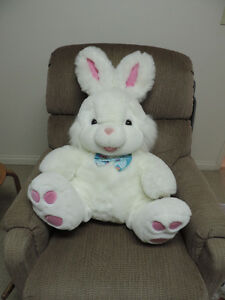 LARGE STUFFED RABBIT