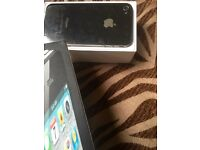 New Black Apple iPhone 4 16GB o2 with Box