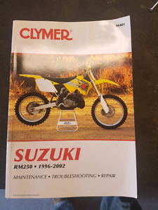 Rm250 Full manual  96-02