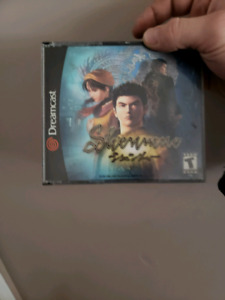 OBO Dreamcast with 3 Controllers, 2 memory cards and Shenmue 1