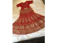 Indian/Pakistani heavy Bridal Lehnga (can be collected or free postage)
