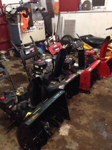 Snowblower Repairs and Servicing pickup available