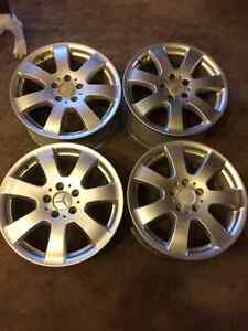 "Mercedes ML320 Summer/Winter Alloy Wheels Mags 17"" x 8.5"""