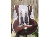Car seat baby britax 9months to 4 years recliner