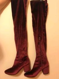 Thigh high Daisy Street boots