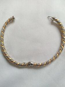 Cartier Bracelet 18 Karate Gold. 3 colors