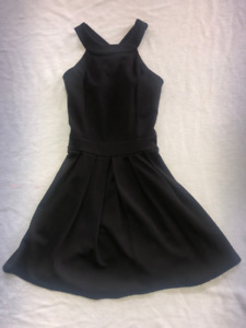 JUST ME black above the knee dress. size girls 12