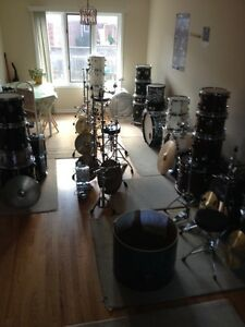 DRUMS FOR SALE/SHELL PACKS/CYMBALS/STANDS/DRUM THRONES/PEDALS