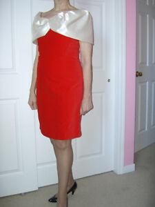 Red Velvet Party Dress - Ladies Size 8 Cambridge Kitchener Area image 3
