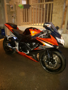 2008 Suzuki GSX-R 750 with M4 GP pipe