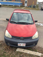 2003 Toyota Echo black Other