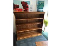 Large Pine book case