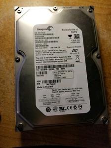 Seagate 320GB Sata II desktop hard drive