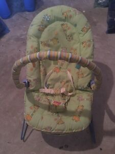 Bouncy chair, seat with toys
