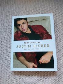 Justin Bieber and Tom Darley books