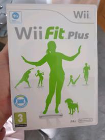 Nintendo Wii Fit Plus Game