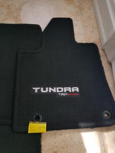 Toyota Tundra Trd carpet floor mats.