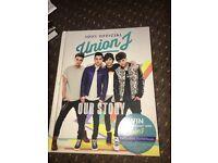 UNION J BOOK £7