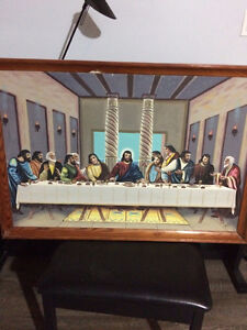 Sanford Fisher Last Supper Painting- $500 OBO.
